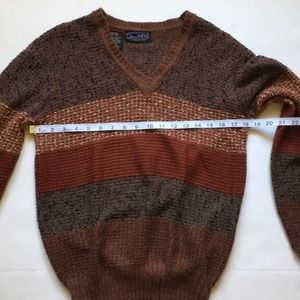 Vintage Sweaters - Vintage Mo Hair Mariea Kim 80s V Neck Sweater